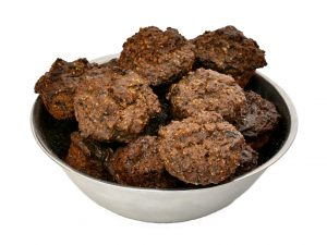 Muffins for dogs made with beef liver