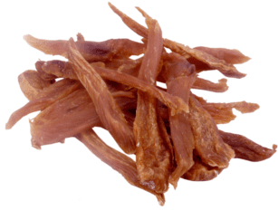 dried organic chicken breast