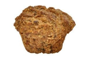 Muffin made for dogs with real chicken meat