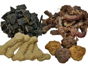 Four of Zoe's Favourite Treats so your dog can sample homemade dog treats.